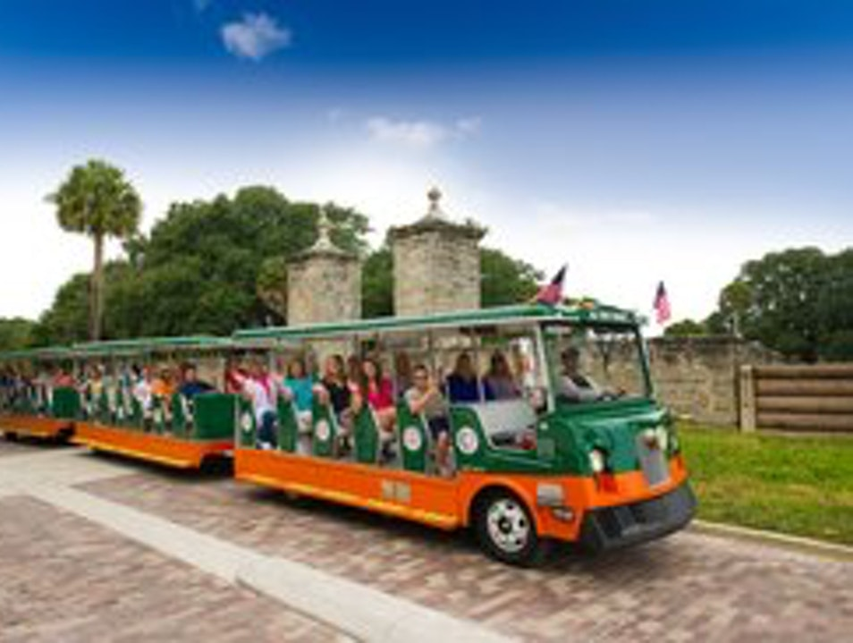Hop On Old Town Trolley Tours of St. Augustine Saint Augustine Florida United States