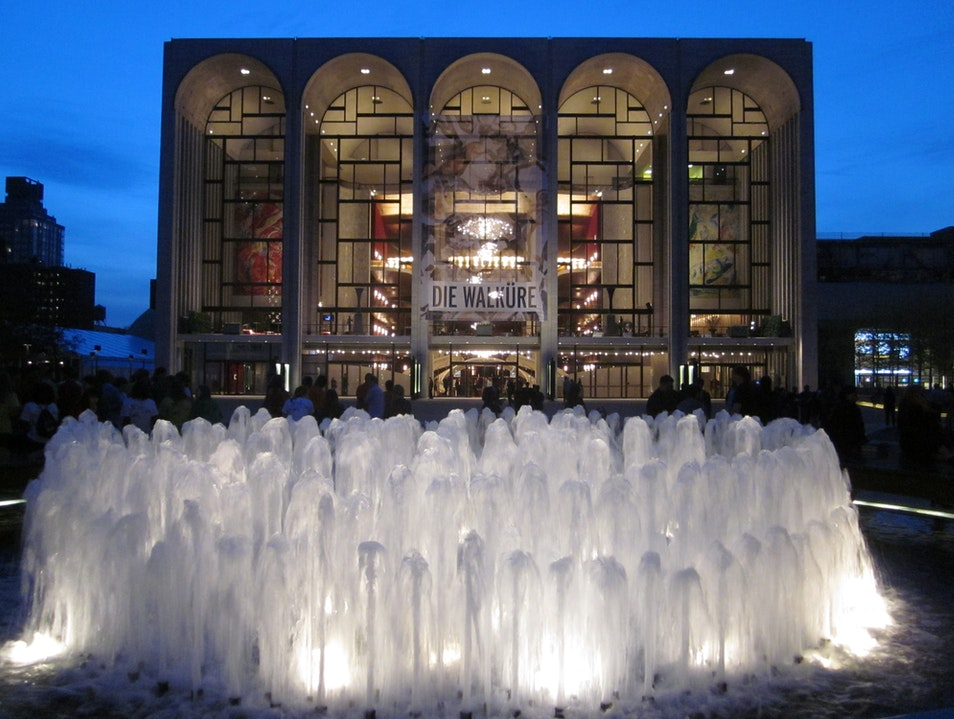 Soaking Up Culture at New York City's Lincoln Center New York New York United States