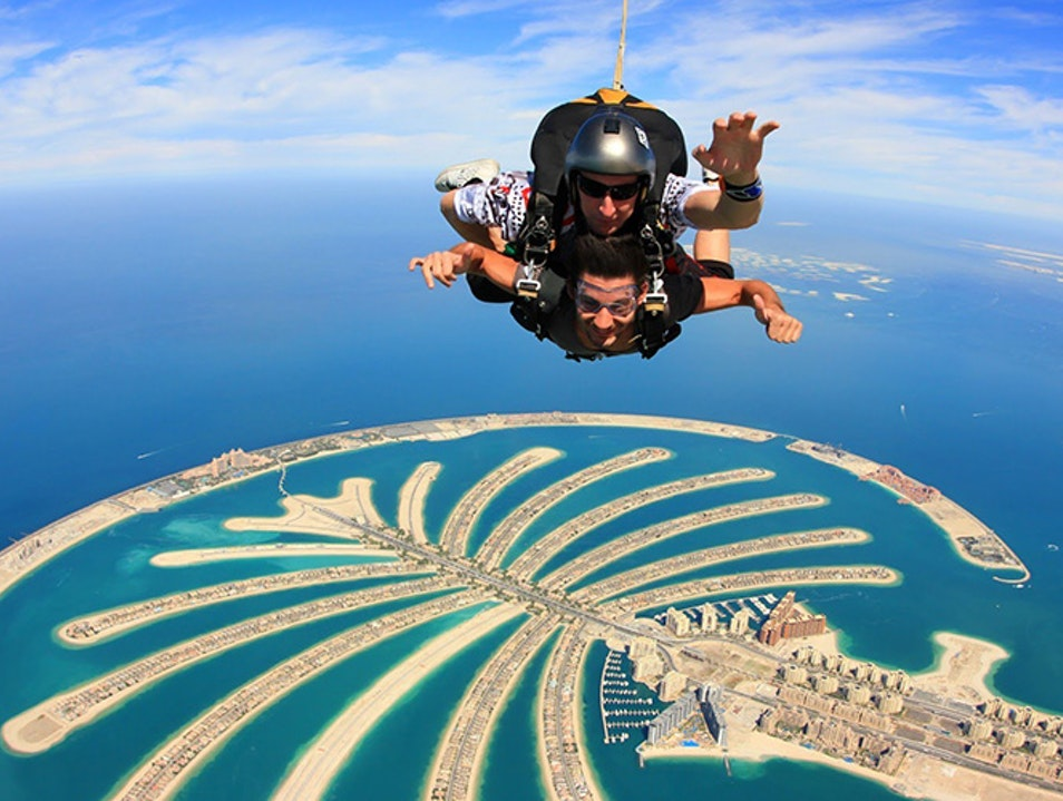 Skydive Dubai Dubai  United Arab Emirates