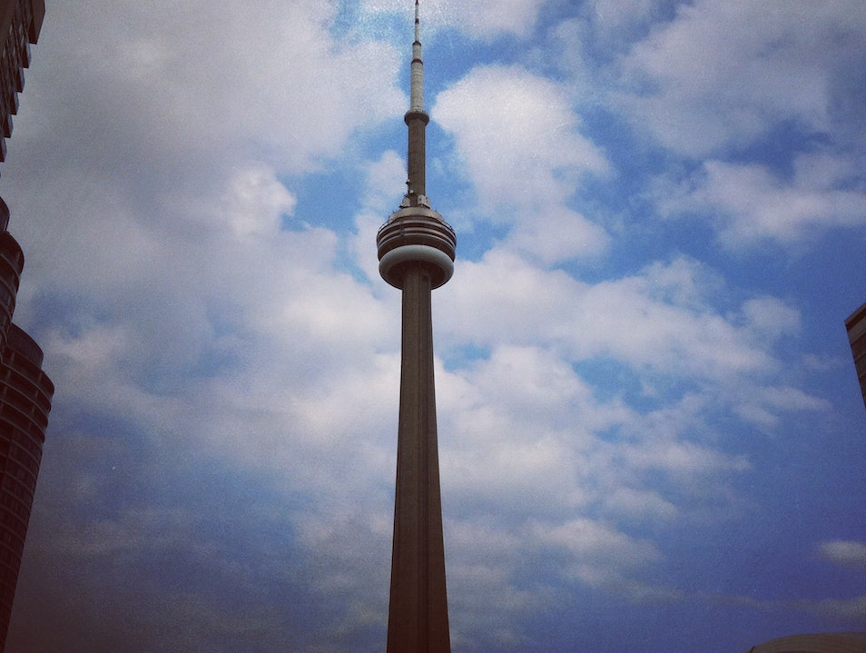 View of CN Tower.   Canada