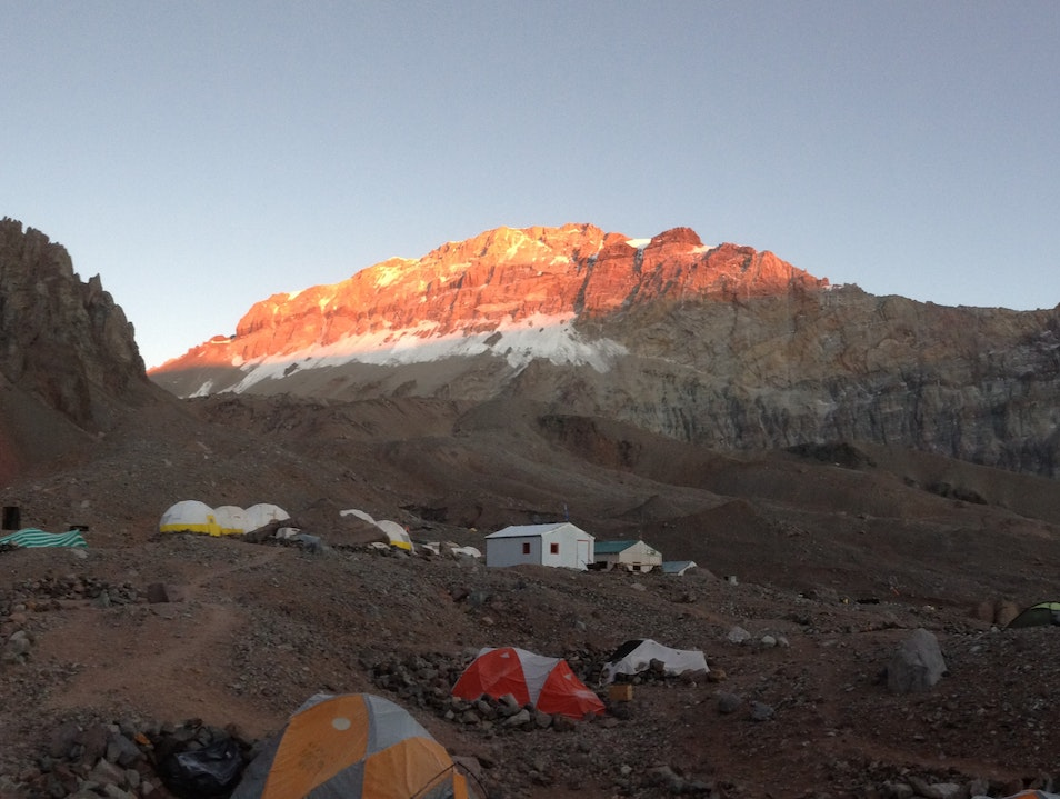 Aconcagua - Not an easy walk in the Park Las Heras  Argentina