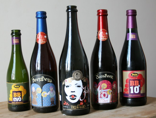 Shop for Italian craft beer in central Rome.