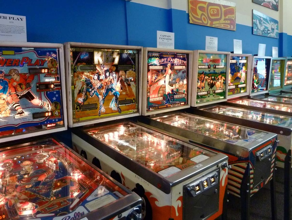 Play a Mean Pinball Seattle Washington United States