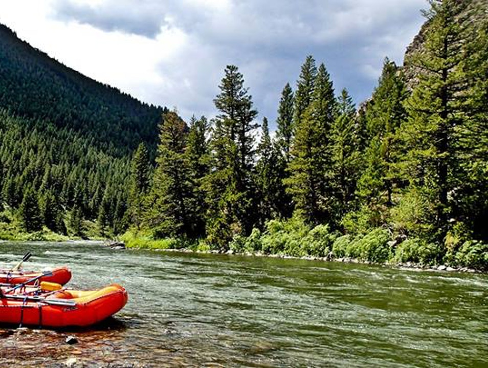 Raft Big Sky Country  Gallatin Gateway Montana United States