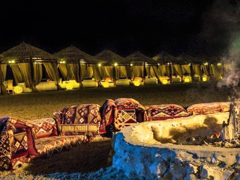 Glamping in the Qatari Desert Umm Said  Qatar