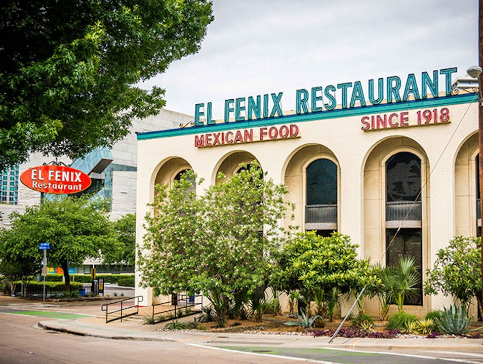 El Fenix Mexican Restaurant Dallas Texas United States