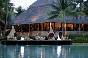 Le Corail Restaurant at the InterContinental Resort and Thalasso Spa Bora Bora