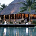 Le Corail Restaurant at the InterContinental Resort and Thalasso Spa Bora Bora Leeward Islands  French Polynesia