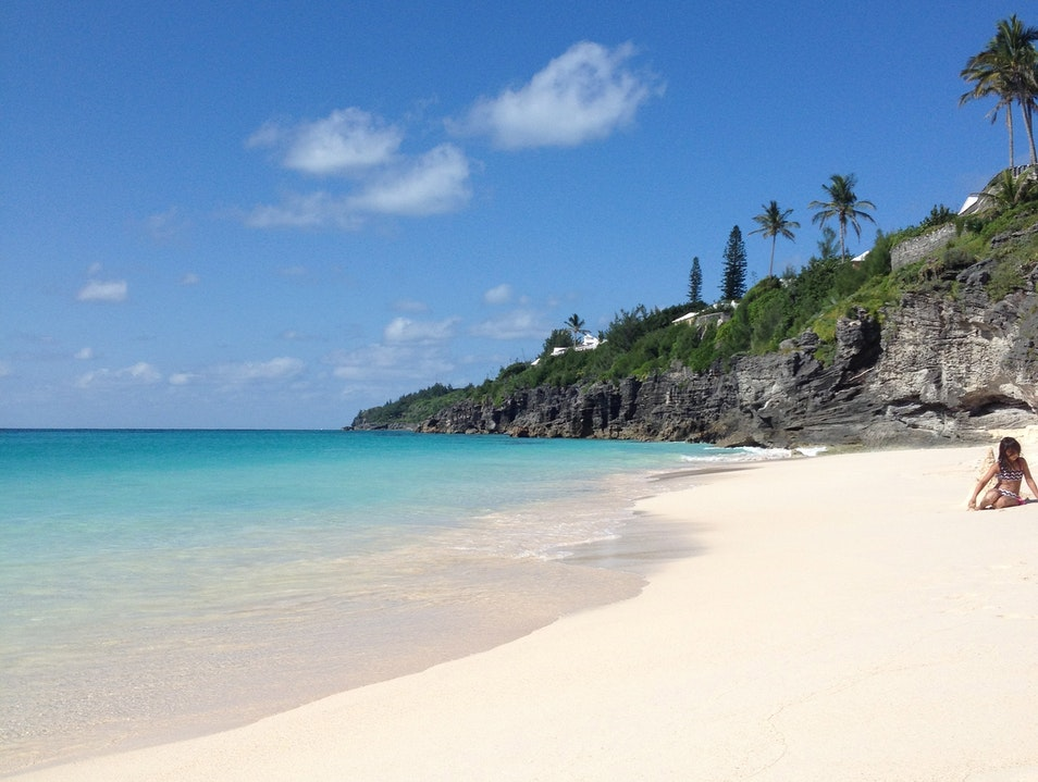 Paradise is a Pink Sand Beach Southampton Parish  Bermuda