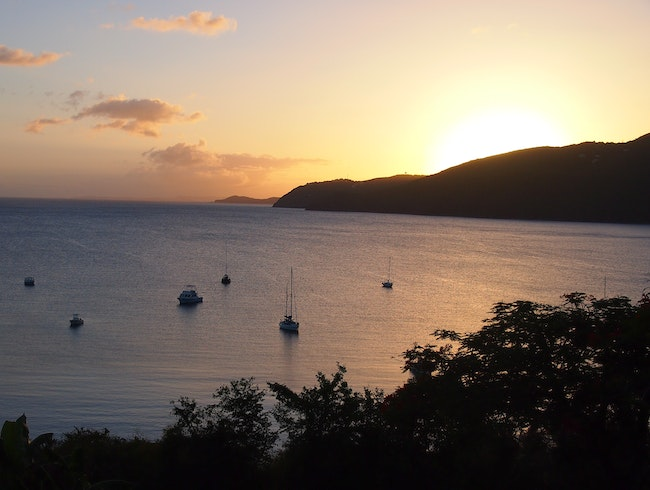 End The Day at Brewers Bay, St. Thomas