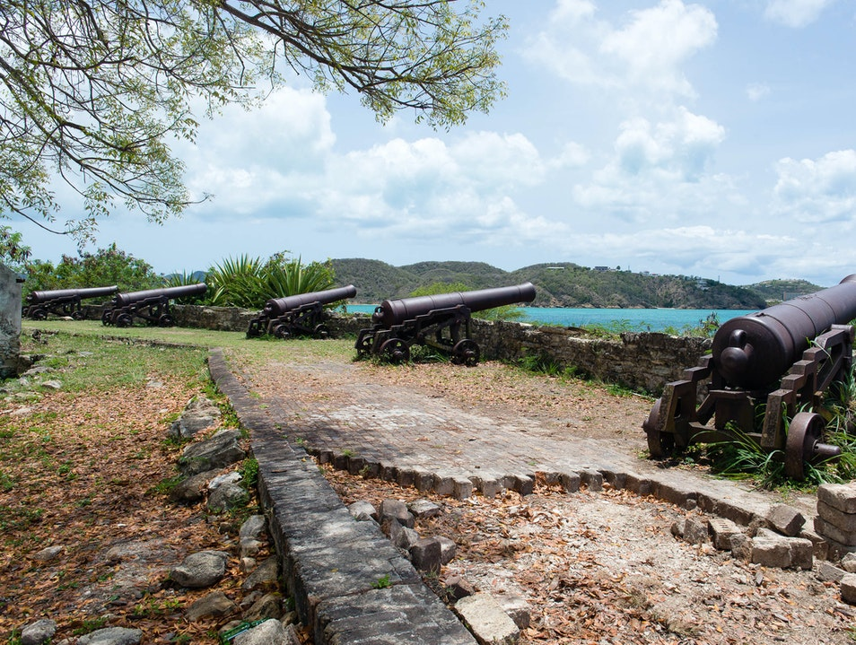 Travel Back to 1739 at Fort James Saint John's  Antigua and Barbuda