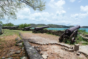 Find the Forts of Antigua