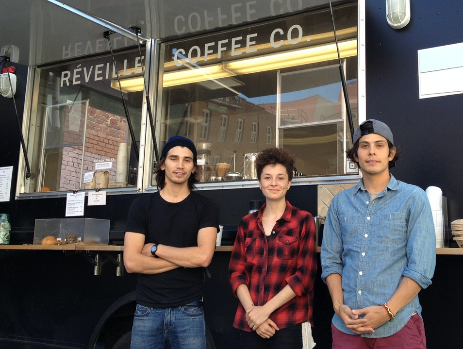 In the hood at AFAR SF: Réveille Coffee Co San Francisco California United States