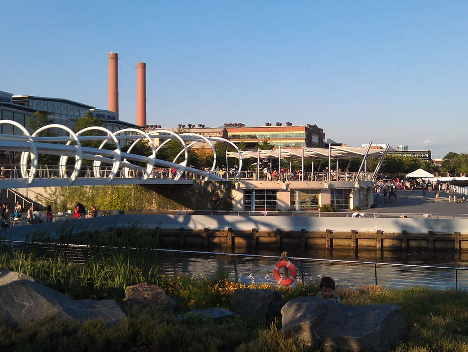 Looking lovely Anacostia Riverfront!