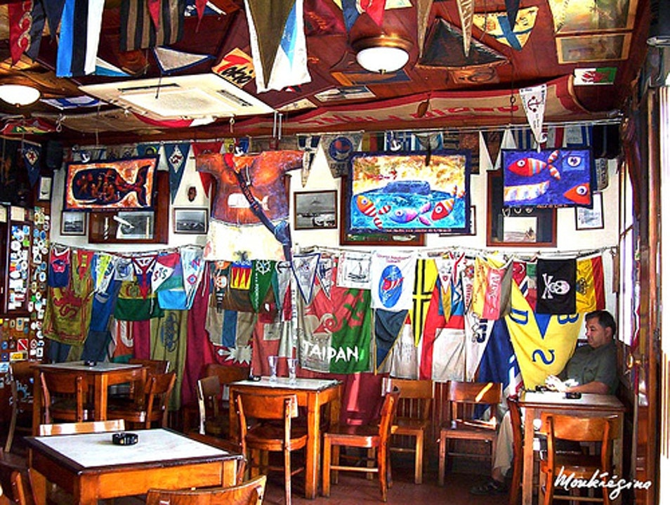 Hang out with the locals at Peter Café Sport in the Azores