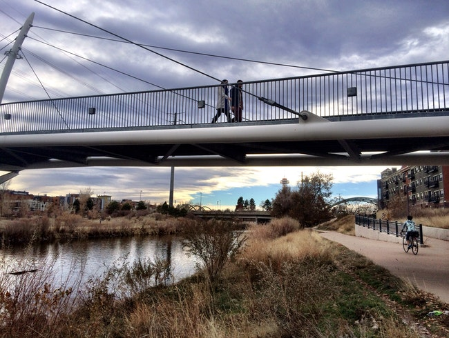 Biking and Running Trails in Downtown Denver