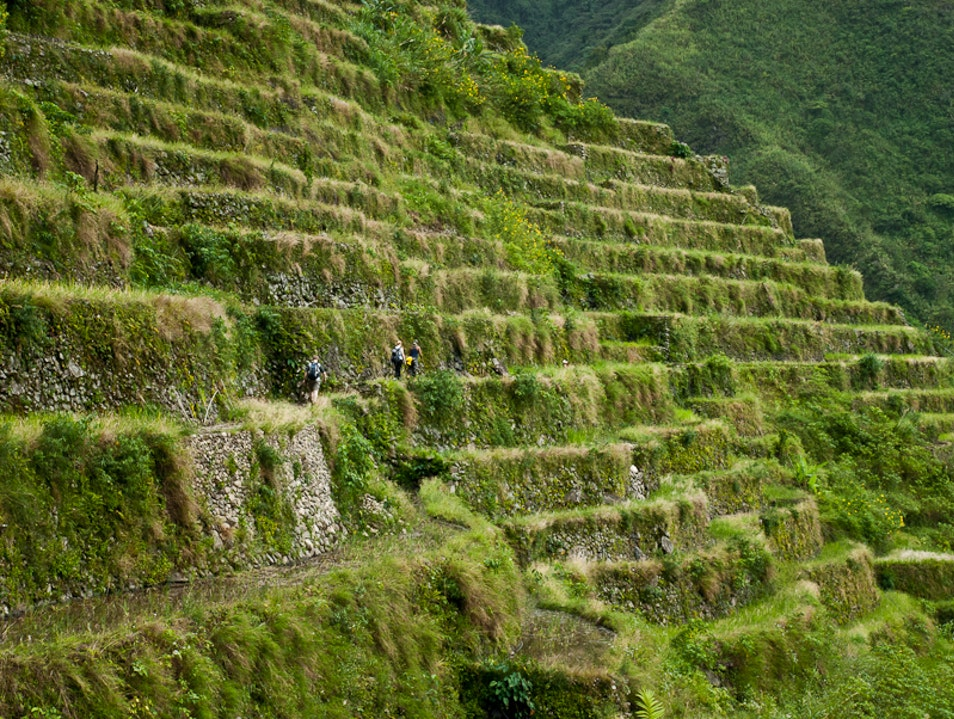 Hike the Millennia-Old Rice Terraces at Batad Banaue  Philippines