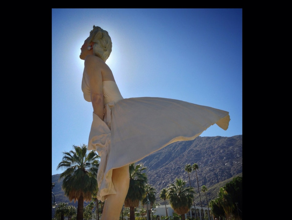 Marilyn Comes Home  Palm Springs California United States