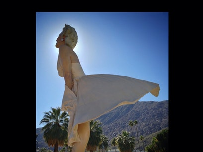 """Forever Marilyn"" Sculpture, Palm Springs, CA Palm Springs California United States"