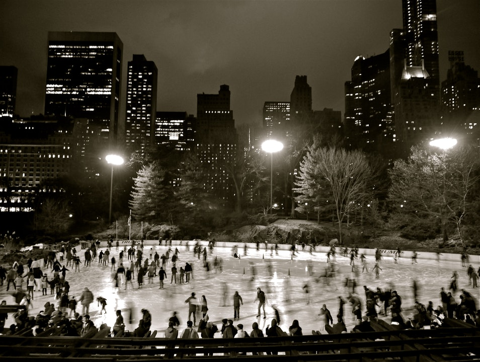 Christmas in Central Park New York New York United States