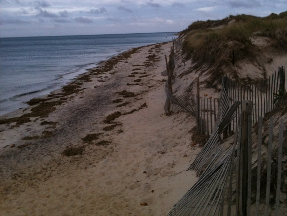 Beach Fence Dennis Massachusetts United States