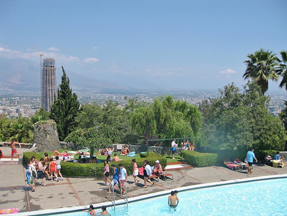 Cool Off in a Pool with a View Santiago  Chile