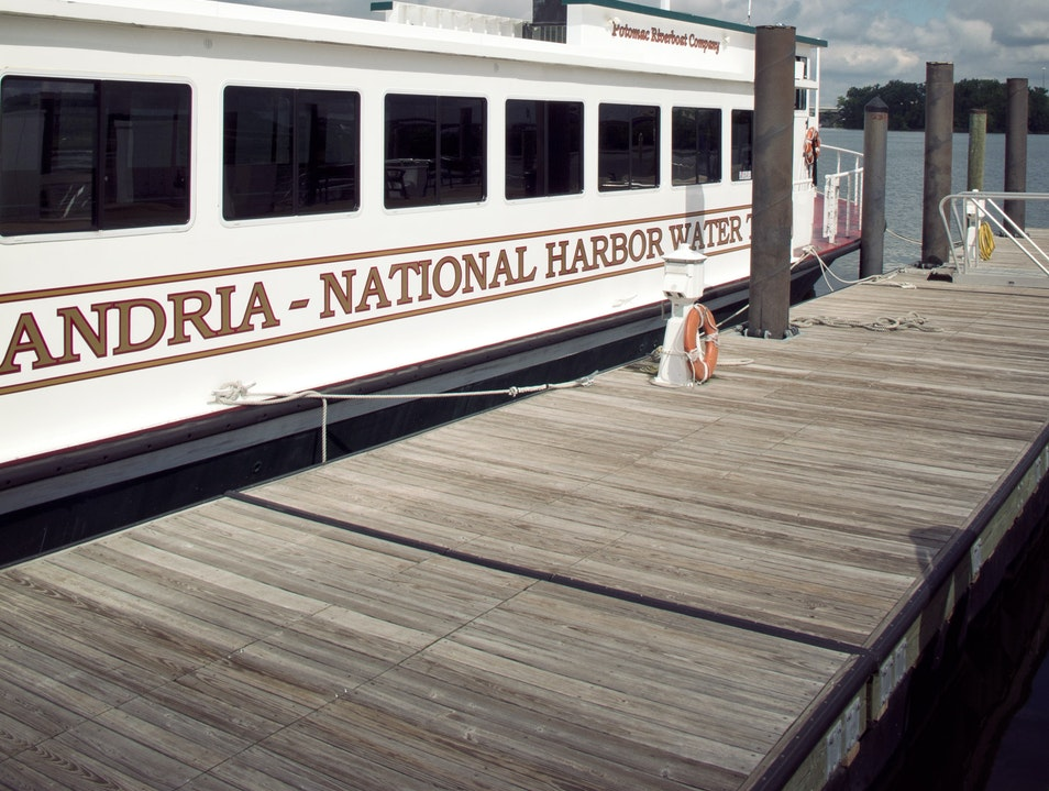 National Harbor Water Taxi Fort Washington Maryland United States