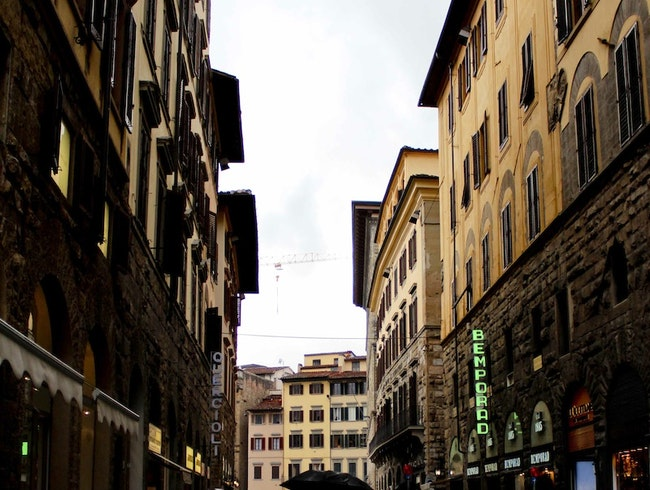 A Rainy Day in Florence
