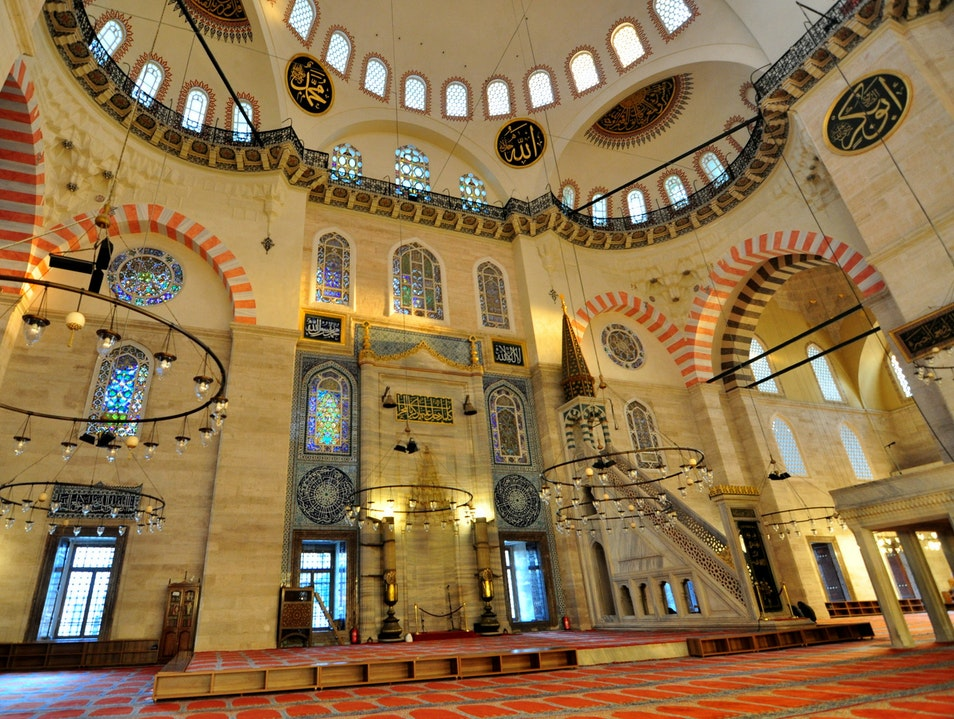 Most Impressive Mosque Of Istanbul Tahtakale Fatih  Turkey