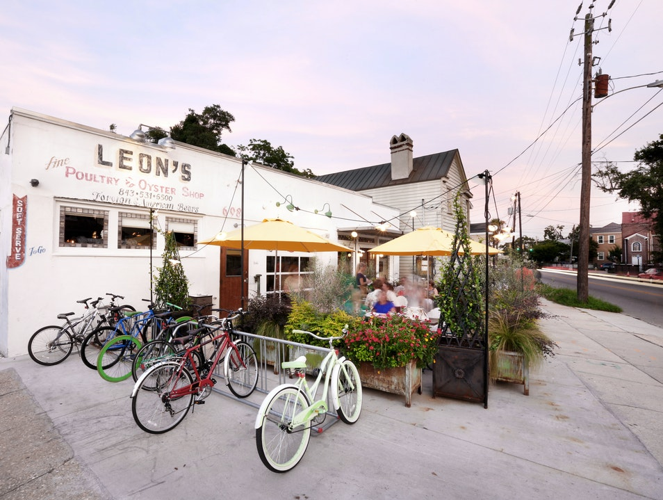 Leon's: Serving Charleston's Finest Shrimp Roll
