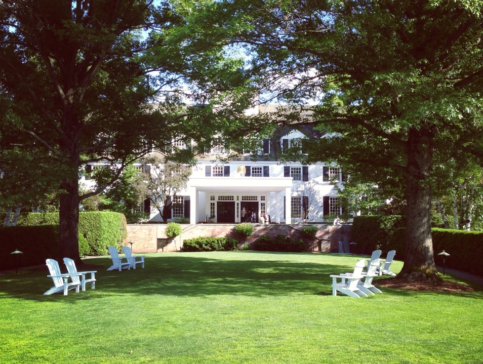 A Historic Resort In Vermont Woodstock Vermont United States