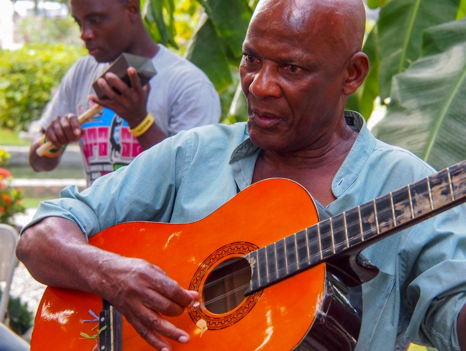 Twoubadou Folk Music, The Soul of Haiti Port Au Prince  Haiti