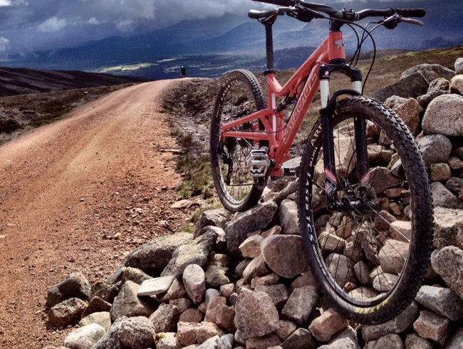 Mountain Biking In Cairngorms National Park
