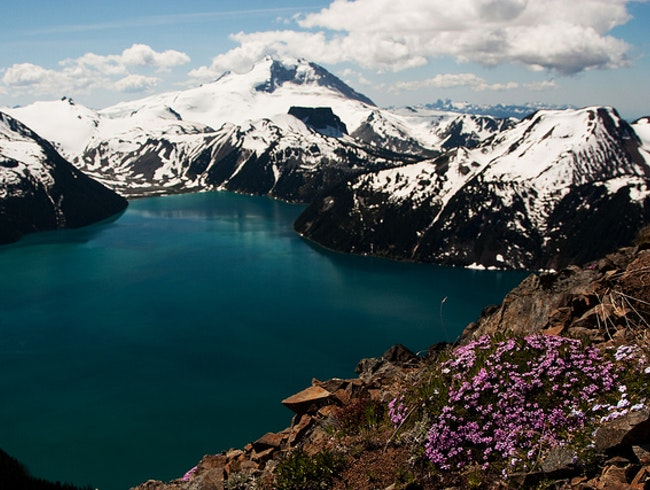 Hiking in Garibaldi Provincial Park
