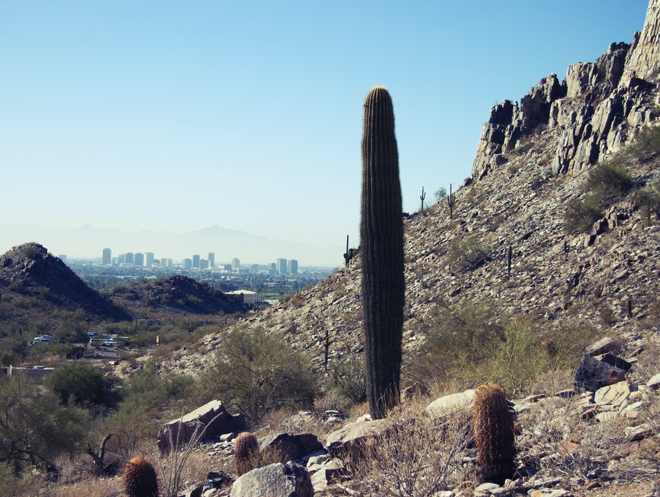 Mountain Climbing near Phoenix Phoenix Arizona United States