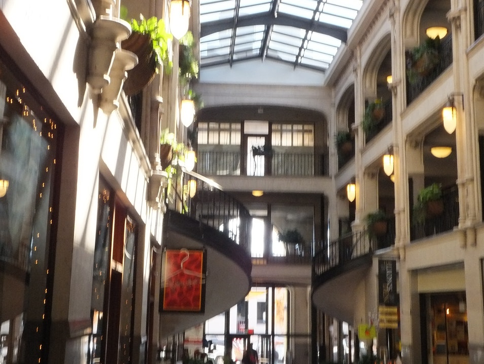 Step Back in Time: Grove Arcade Asheville North Carolina United States