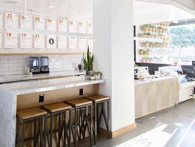 Simple & Fresh at Juice Served Here