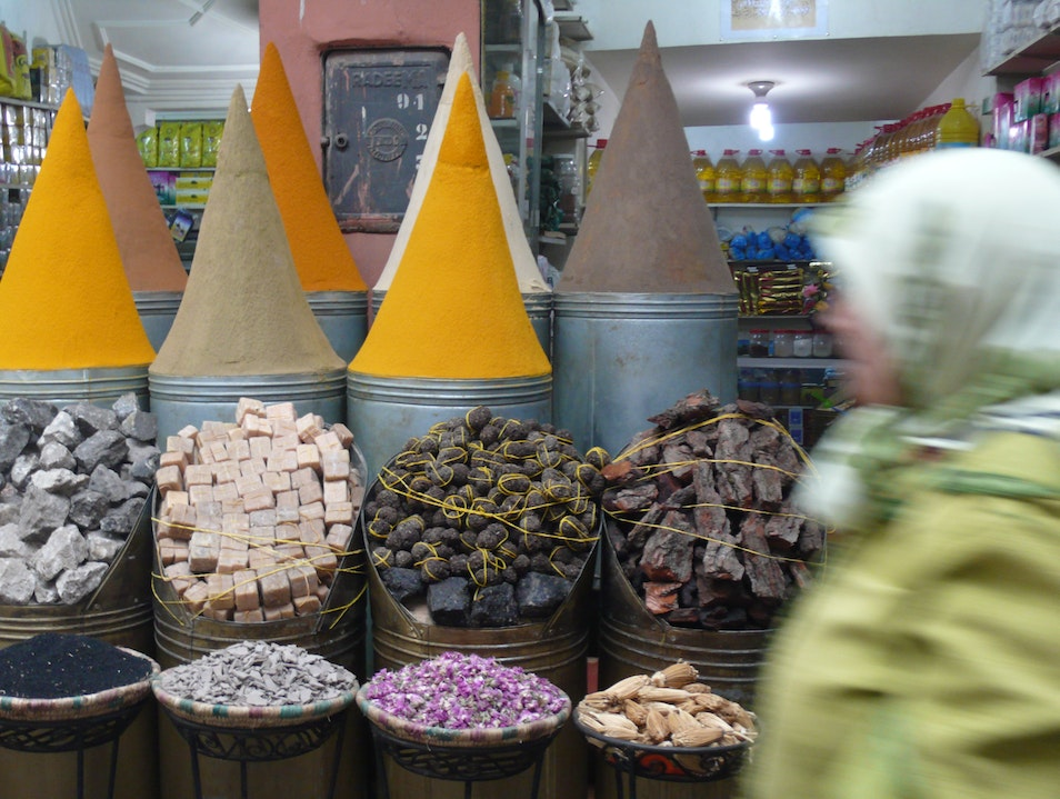 Incredible spices. Marrakech  Morocco
