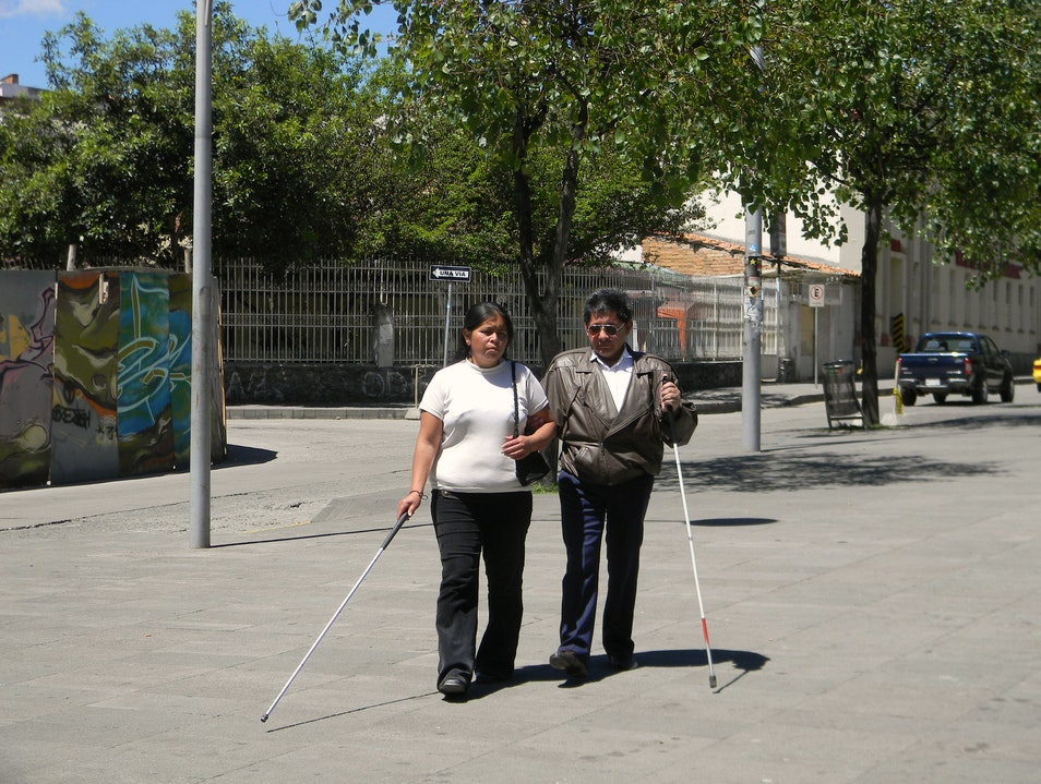 The Blind Leading the Blind Cuenca  Ecuador