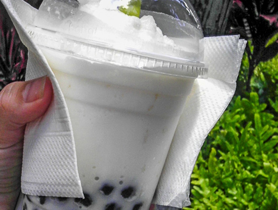 Sweet Bubble Tea Honolulu Hawaii United States