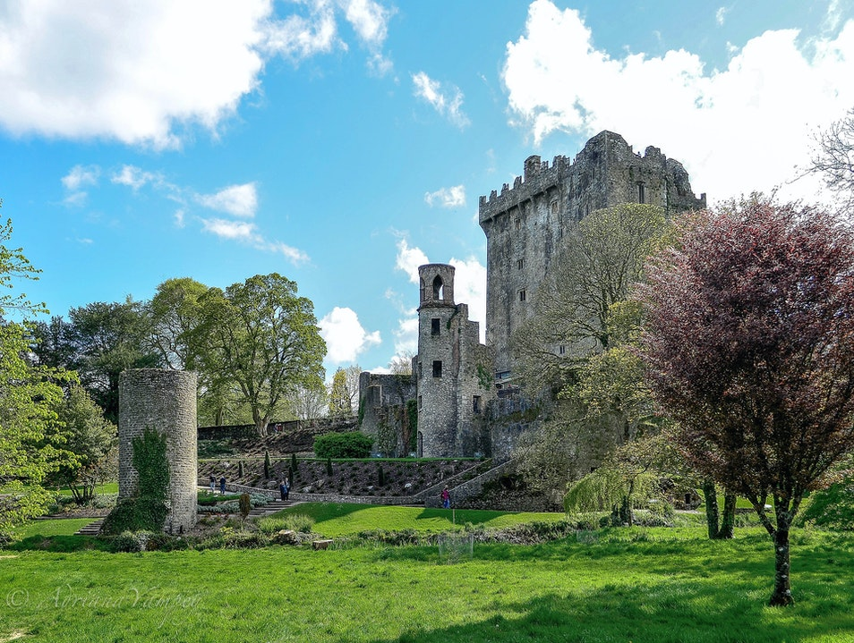Off my bucket list now  Blarney  Ireland