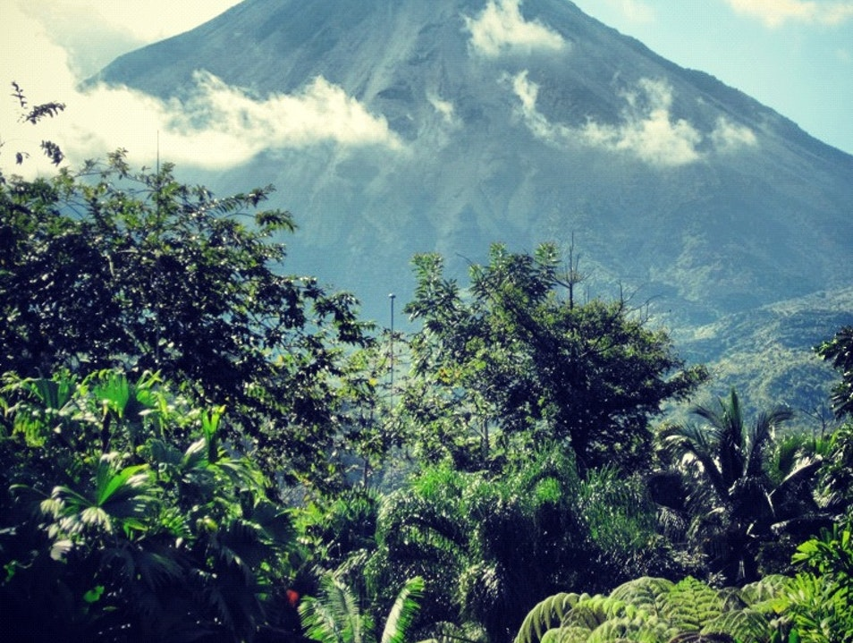 Arenal Volcano On a Clear Day