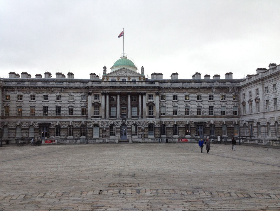 Somerset House on the Sly