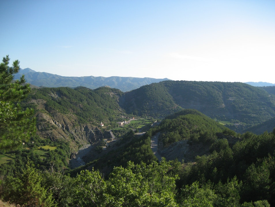 """Driving the """"old road"""" from the coast to Kosovo.   Albania"""