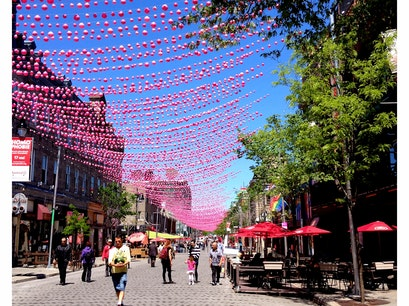 Gay Village Montreal  Canada