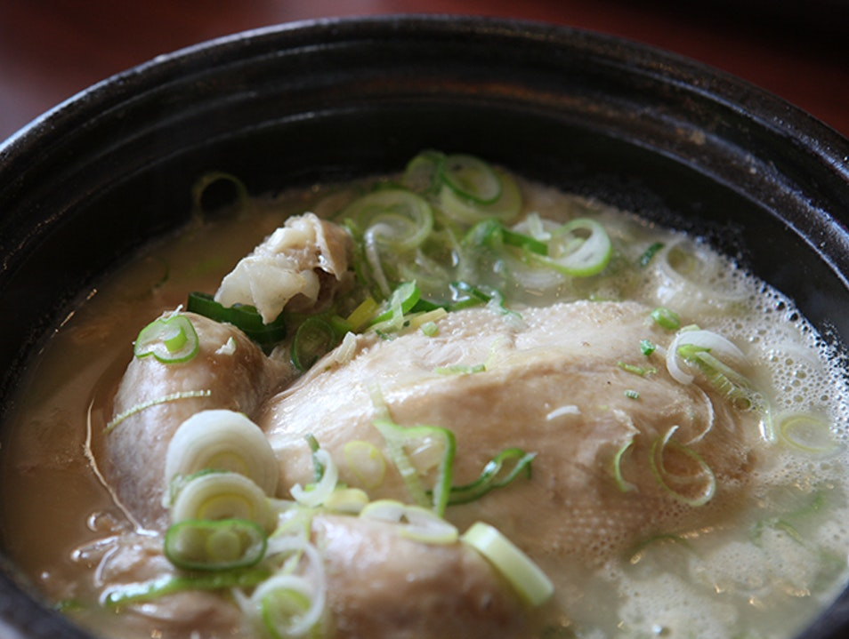 Tosokchon Samgyetang Seoul  South Korea