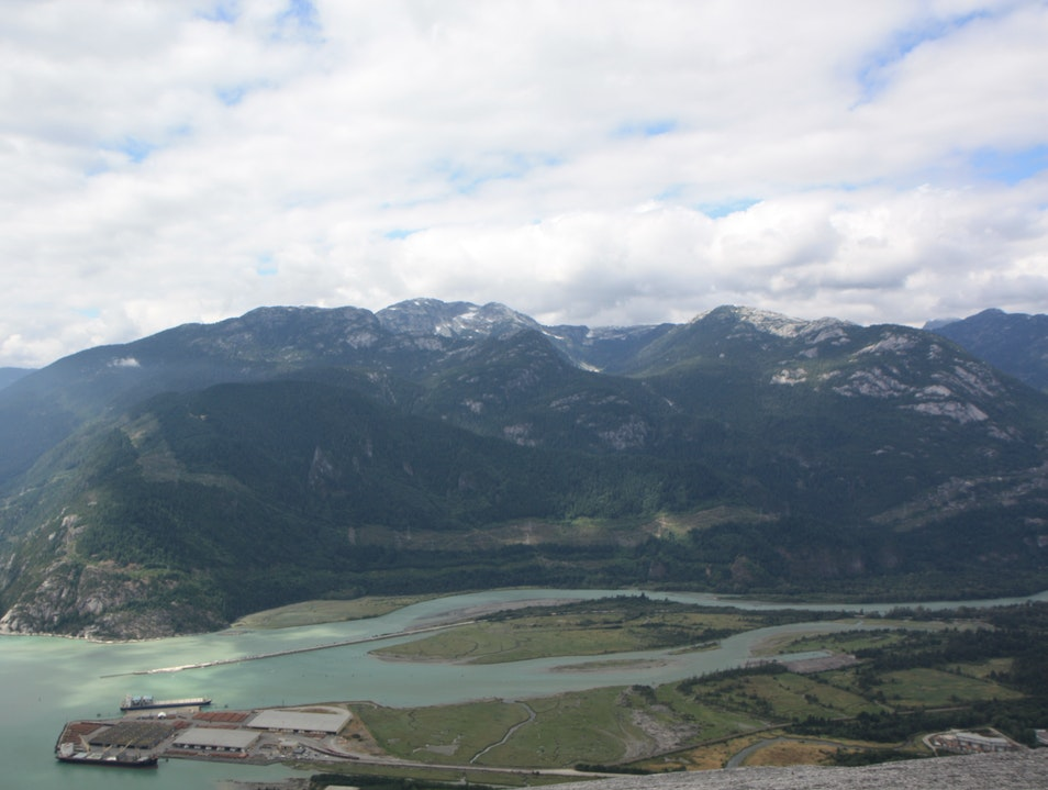 "View from ""the Cheif"" Squamish  Canada"