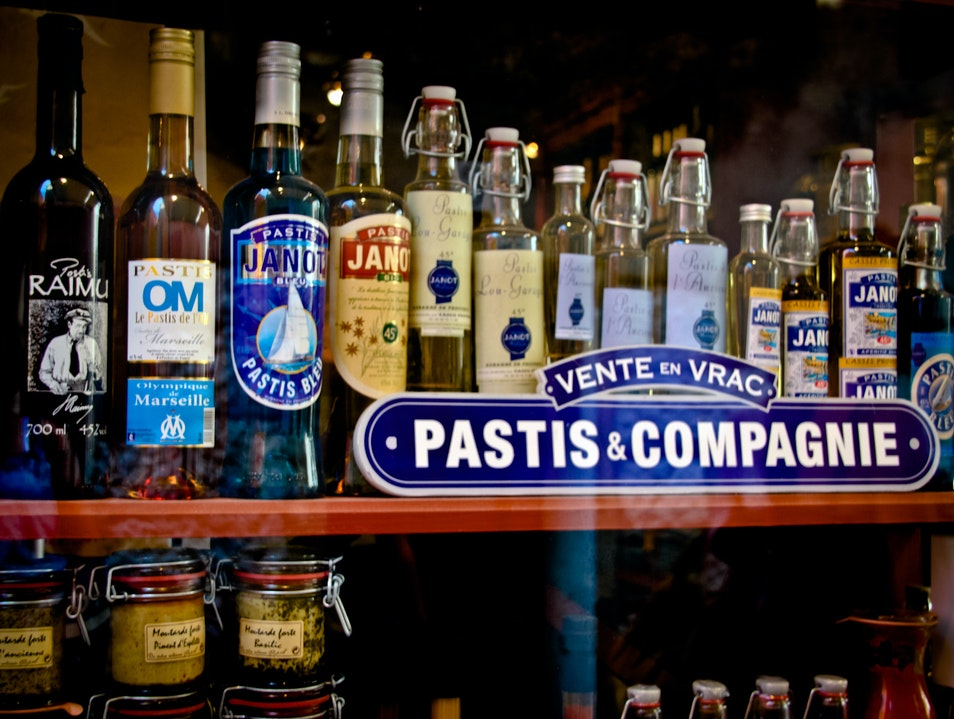 The Color of Pastis Cassis  France