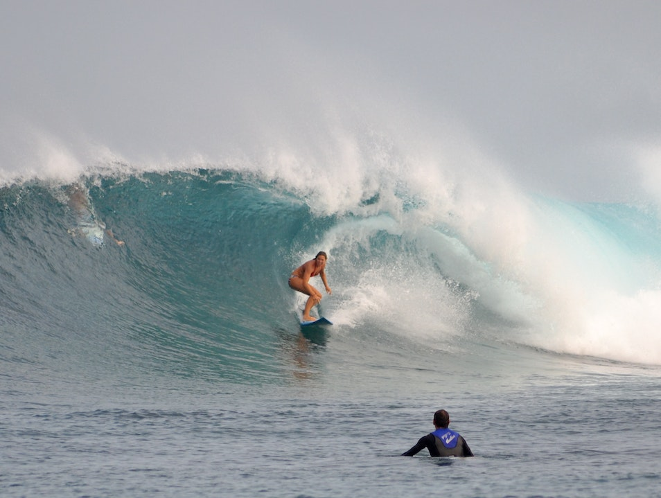 Surfing Sultans in the Maldives