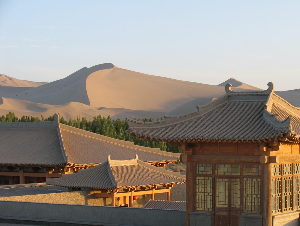 Our Oasis in the Desert Jiuquan  China